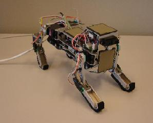 quadruped robot thesis